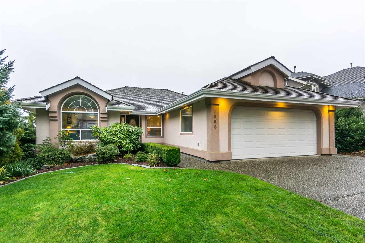 """Main Photo: 2668 GOODBRAND Drive in Abbotsford: Abbotsford East House for sale in """"Sumas Mt"""" : MLS®# R2228805"""