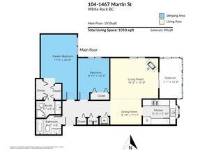 "Photo 24: 104 1467 MARTIN Street: White Rock Condo for sale in ""Searidge Court"" (South Surrey White Rock)  : MLS®# R2560103"