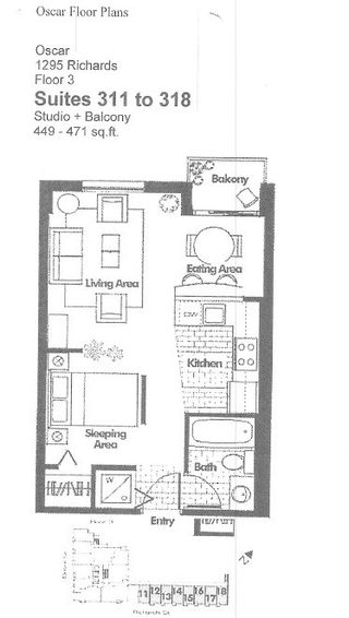 """Photo 24: 318 1295 RICHARDS Street in Vancouver: Yaletown Condo for sale in """"The Oscar"""" (Vancouver West)  : MLS®# R2528753"""