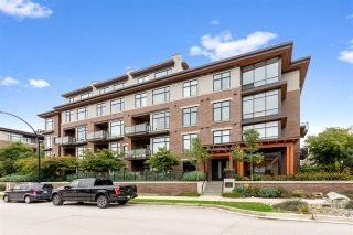 """Photo 1: 108 262 SALTER Street in New Westminster: Queensborough Condo for sale in """"Portage at Port Royal"""" : MLS®# R2509481"""