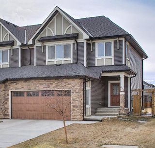 Photo 1: 199 Kinniburgh Road: Chestermere Semi Detached for sale : MLS®# A1082430