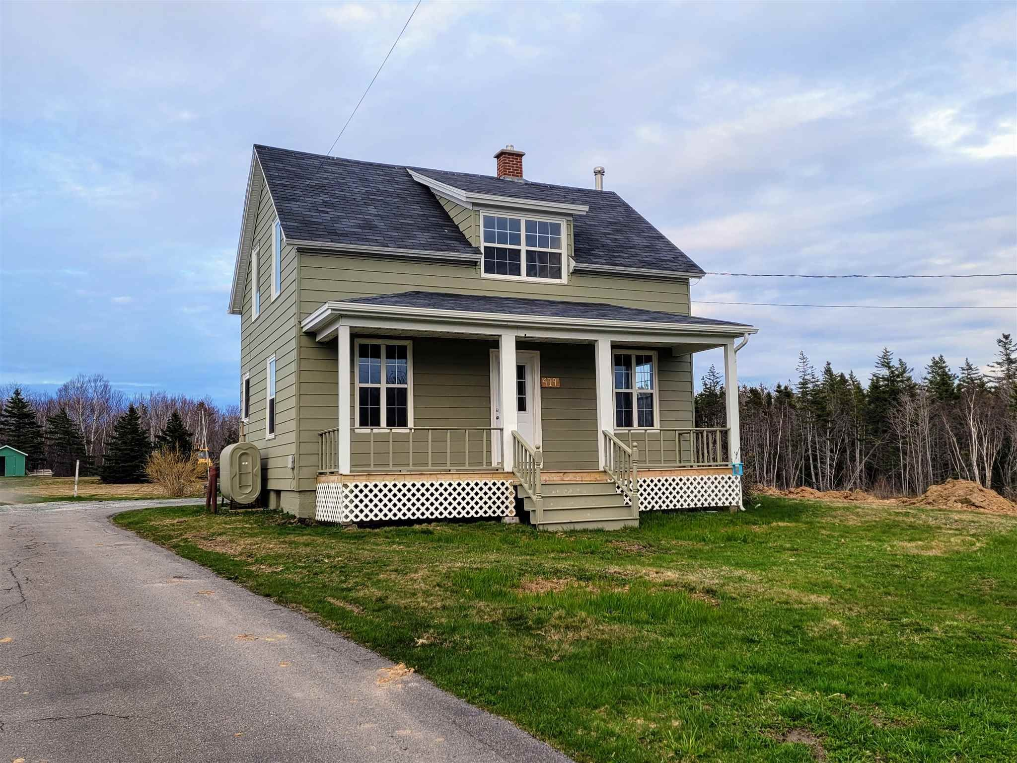 Main Photo: 419 Mitchell Avenue in Dominion: 203-Glace Bay Residential for sale (Cape Breton)  : MLS®# 202111083