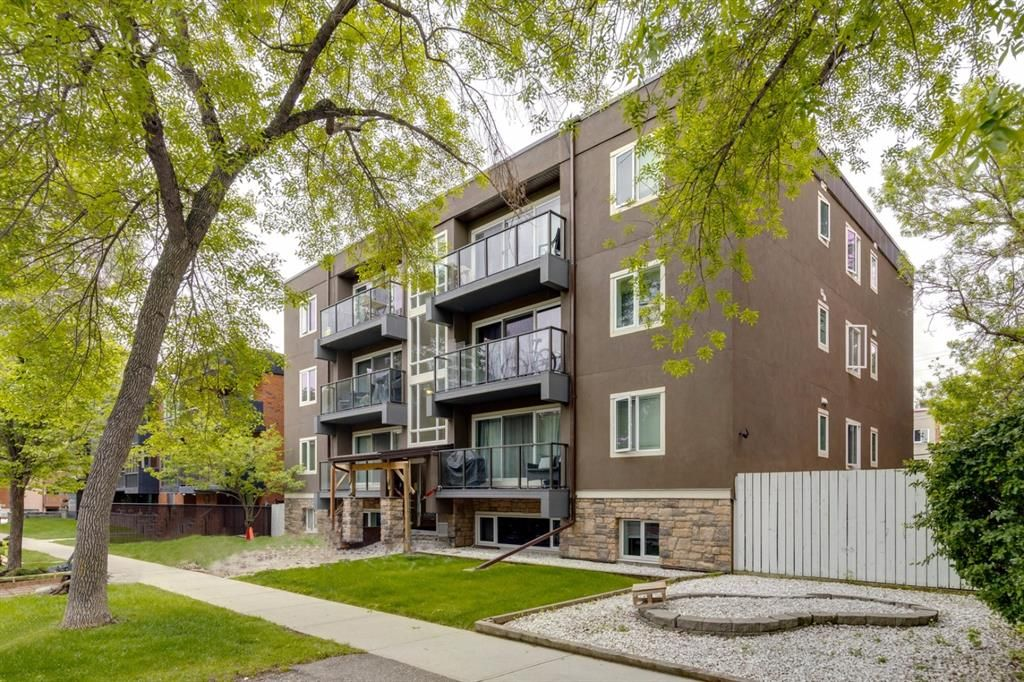 Main Photo: 202 343 4 Avenue NE in Calgary: Crescent Heights Apartment for sale : MLS®# A1118718