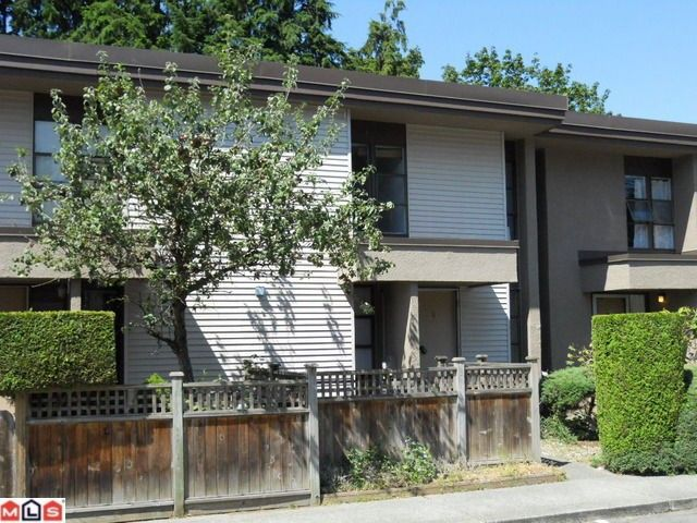 """Main Photo: 6 13755 102ND Avenue in Surrey: Whalley Townhouse for sale in """"THE MEADOWS"""" (North Surrey)  : MLS®# F1023899"""