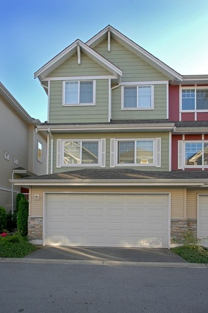 """Main Photo: 6 1108 RIVERSIDE Close in Port Coquitlam: Riverwood Townhouse for sale in """"HERITAGE MEADOWS"""" : MLS®# V791486"""
