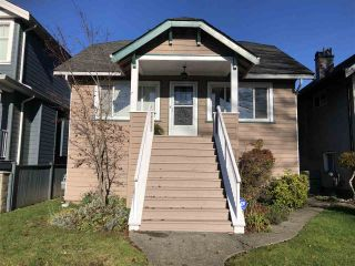 Photo 1: 3467 FRANKLIN Street in Vancouver: Hastings Sunrise House for sale (Vancouver East)  : MLS®# R2438816