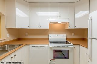 """Photo 1: 40 5988 HASTINGS Street in Burnaby: Capitol Hill BN Condo for sale in """"SATURNA"""" (Burnaby North)  : MLS®# R2314385"""
