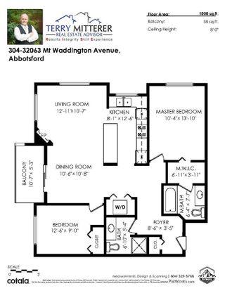 """Photo 18: 304 32063 MT.WADDINGTON Avenue in Abbotsford: Abbotsford West Condo for sale in """"The Waddington"""" : MLS®# R2560472"""