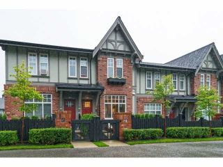 """Photo 1: 29 1320 RILEY Street in Coquitlam: Burke Mountain Townhouse for sale in """"RILEY"""" : MLS®# V1093490"""