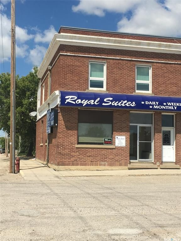Main Photo: 101 Main Street in Young: Commercial for sale : MLS®# SK813331