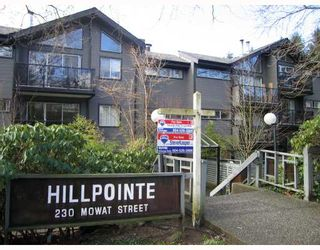 "Photo 1: 111 230 MOWAT Street in New_Westminster: Uptown NW Condo for sale in ""HILL POINTE"" (New Westminster)  : MLS®# V754987"