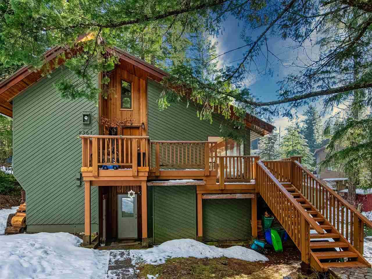 "Main Photo: 8361 VALLEY Drive in Whistler: Alpine Meadows House for sale in ""Alpine Meadows"" : MLS®# R2522011"