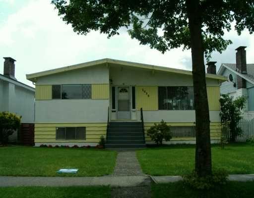 Main Photo: 3038 E 45TH AV in Vancouver: Killarney VE House for sale (Vancouver East)  : MLS®# V594285