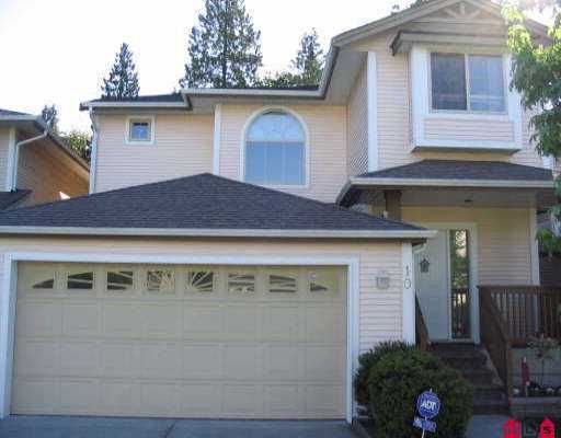 "Main Photo: 10 8675 209TH ST in Langley: Walnut Grove House for sale in ""SYCAMORES"" : MLS®# F2511579"