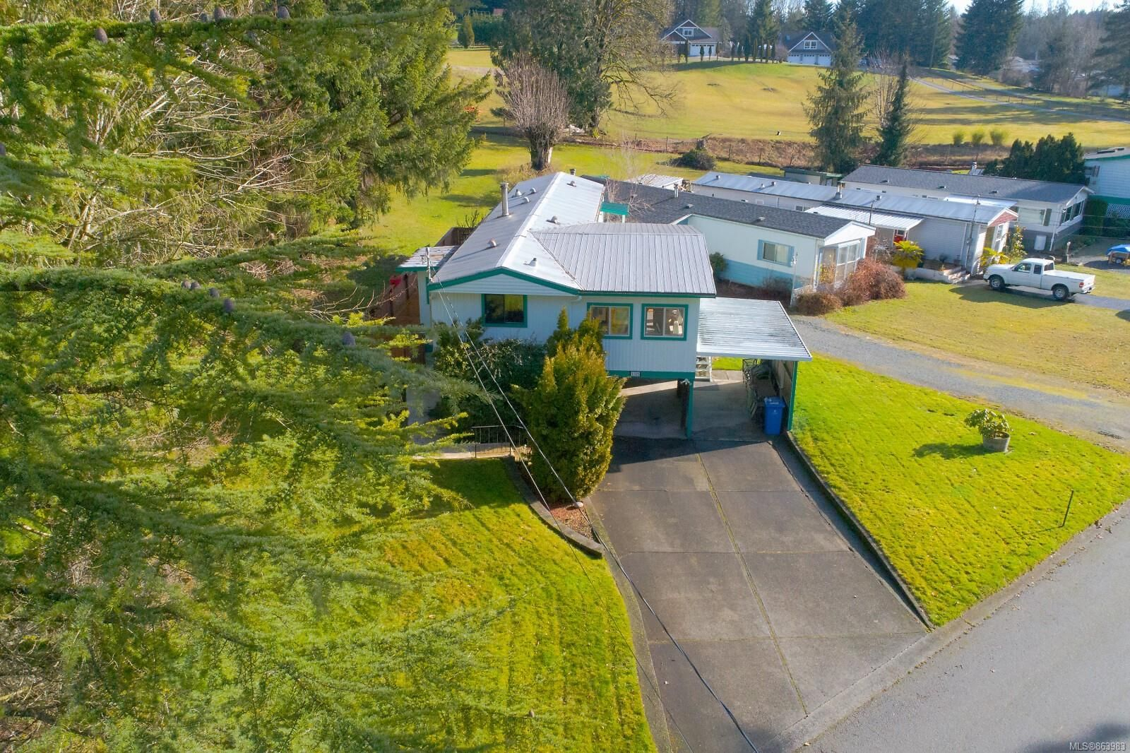 Main Photo: 1105 Bourban Rd in : ML Mill Bay Manufactured Home for sale (Malahat & Area)  : MLS®# 863983