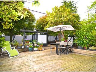 Photo 2: # 105 2277 MCGILL ST in Vancouver: Hastings Condo for sale (Vancouver East)  : MLS®# V1054708