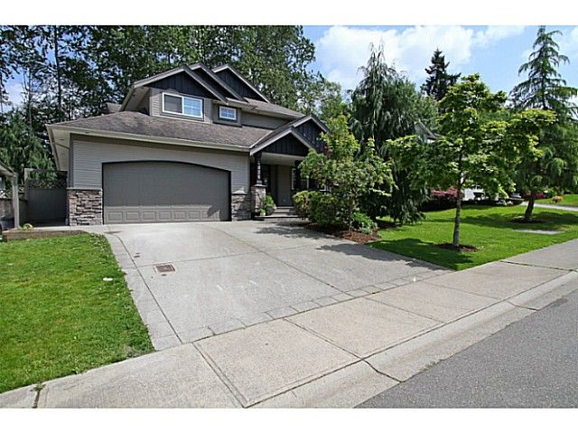 "Main Photo: 4926 217B Street in Langley: Murrayville House for sale in ""Creekside"" : MLS®# F1441336"