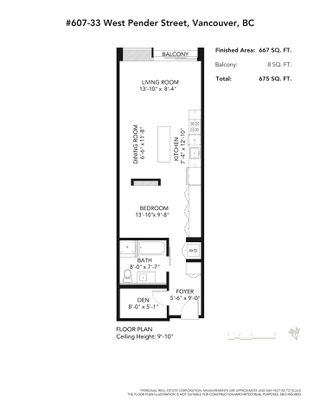 """Photo 16: 607 33 W PENDER Street in Vancouver: Downtown VW Condo for sale in """"33 LIVING"""" (Vancouver West)  : MLS®# R2572054"""