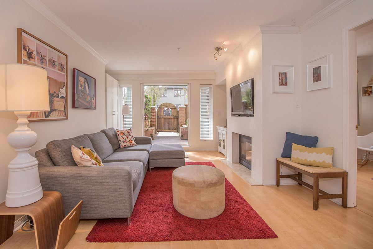 """Main Photo: 102 1915 E GEORGIA Street in Vancouver: Hastings Condo for sale in """"GEORGIA GARDENS"""" (Vancouver East)  : MLS®# R2150666"""