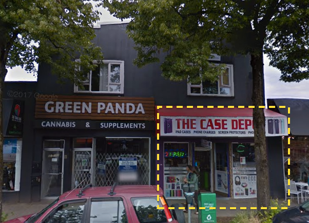 Main Photo: 2857 West Broadway Street in Vancouver: Kitsilano Retail for lease