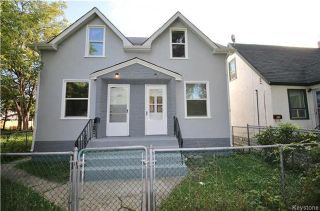 Photo 1: 606 Magnus Avenue in Winnipeg: North End Residential for sale (4A)  : MLS®# 1703752