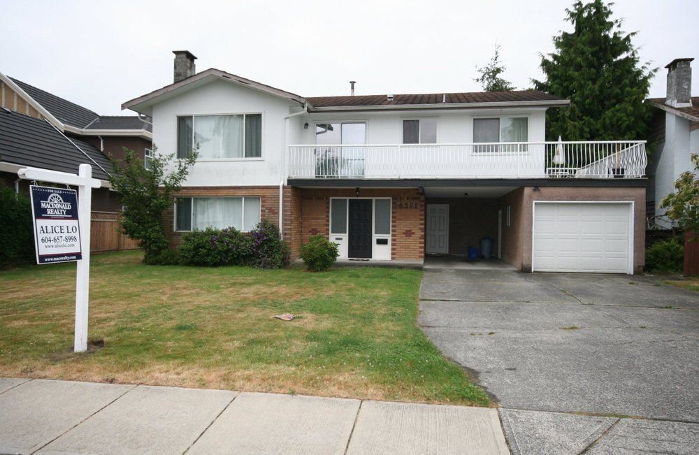 Main Photo: 6371 CLEMATIS Drive in Richmond: Home for sale : MLS®# V1037811