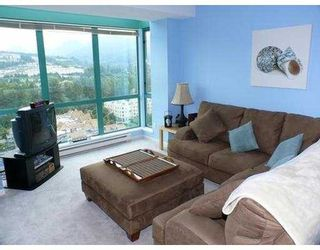 """Photo 5: 2001 3071 GLEN Drive in Coquitlam: North Coquitlam Condo for sale in """"PARC LAURENT"""" : MLS®# V728874"""