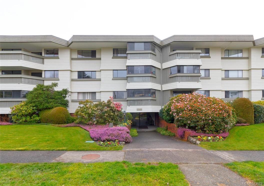 Main Photo: 406 1145 Hilda St in Victoria: Vi Fairfield West Condo for sale : MLS®# 843863