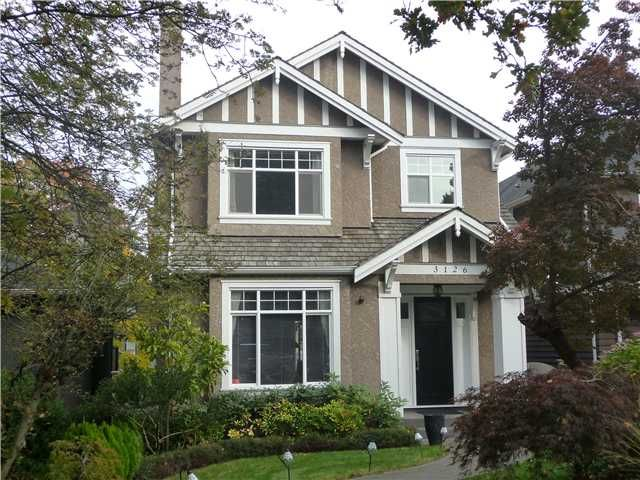 """Main Photo: 3126 WATERLOO ST in Vancouver: Kitsilano House for sale in """"Kitsilano"""" (Vancouver West)  : MLS®# V1037642"""