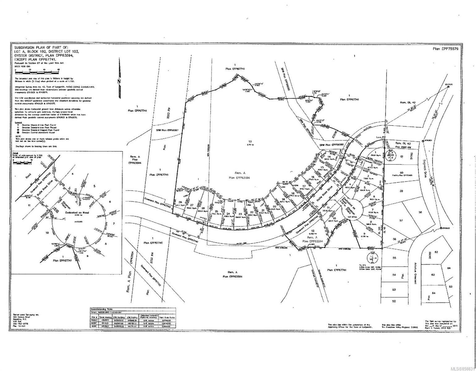 Main Photo: Lot 12 Rollie Rose Dr in Ladysmith: Du Ladysmith Land for sale (Duncan)  : MLS®# 858831