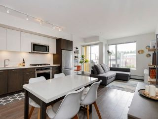 Photo 1: 411 417 GREAT NORTHERN Way in Vancouver: Strathcona Condo for sale (Vancouver East)  : MLS®# R2599138