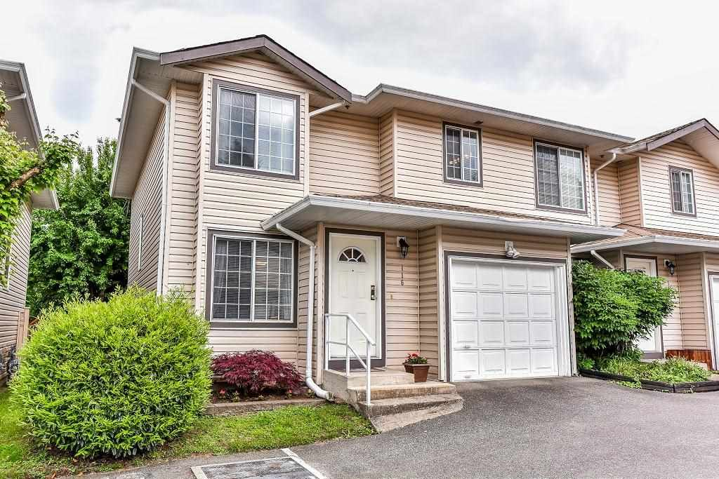 """Main Photo: 116 9561 207 Street in Langley: Walnut Grove Townhouse for sale in """"DERBY MEWS"""" : MLS®# R2172538"""