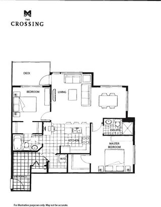 """Photo 11: 415 33539 HOLLAND Avenue in Abbotsford: Central Abbotsford Condo for sale in """"THE CROSSING"""" : MLS®# R2159342"""