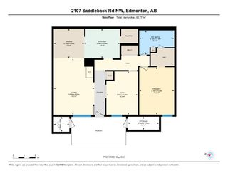 Photo 45: 2107 SADDLEBACK Road in Edmonton: Zone 16 Carriage for sale : MLS®# E4243171