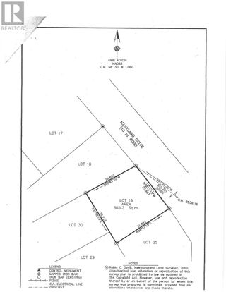 Photo 1: Lot 19 Maryland Drive in Stephenville: Vacant Land for sale : MLS®# 1195548