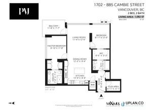 Photo 31: 1702 885 CAMBIE STREET in Vancouver: Yaletown Condo for sale (Vancouver West)  : MLS®# R2615412