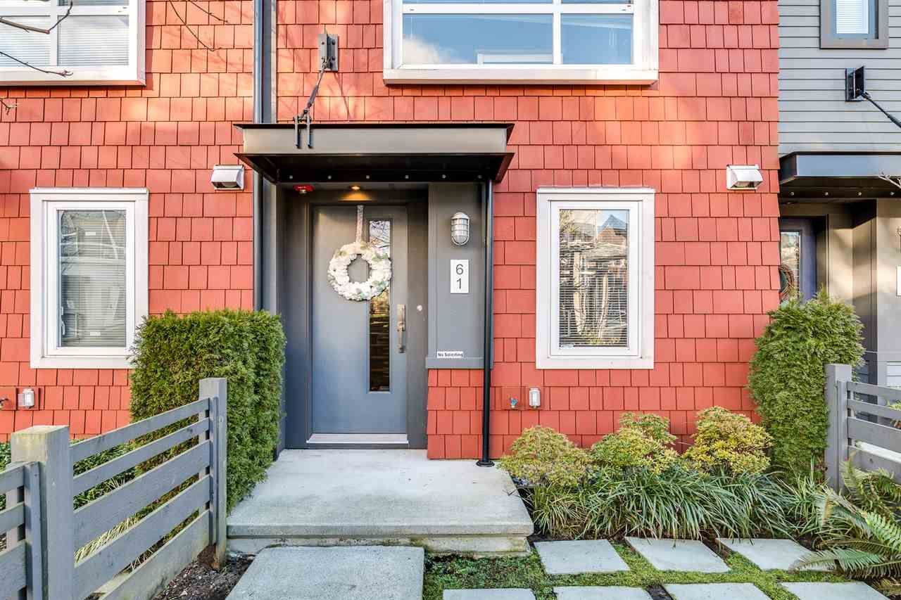 """Main Photo: 61 2310 RANGER Lane in Port Coquitlam: Riverwood Townhouse for sale in """"FREMONT BLUE BY MOSAIC"""" : MLS®# R2433583"""
