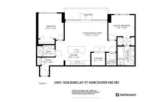 "Photo 29: 2405 1028 BARCLAY Street in Vancouver: West End VW Condo for sale in ""PATINA"" (Vancouver West)  : MLS®# R2555762"