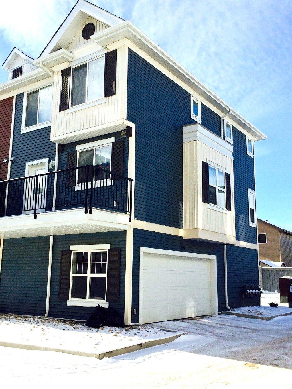 Main Photo: 66, 8315 - 180 Avenue: Edmonton Townhouse for sale : MLS®# e3401461