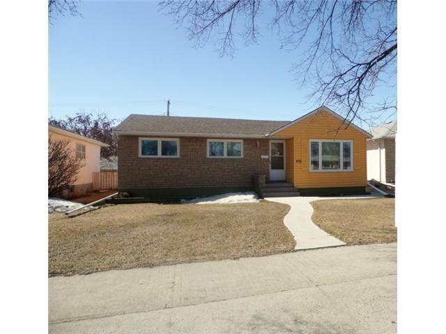 Main Photo: 1132 INKSTER Boulevard in WINNIPEG: North End Residential for sale (North West Winnipeg)  : MLS®# 1307389