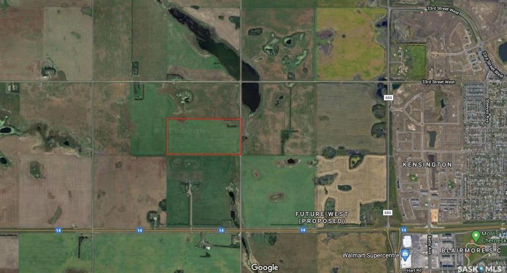80 Acres within City of Saskatoon Boundary