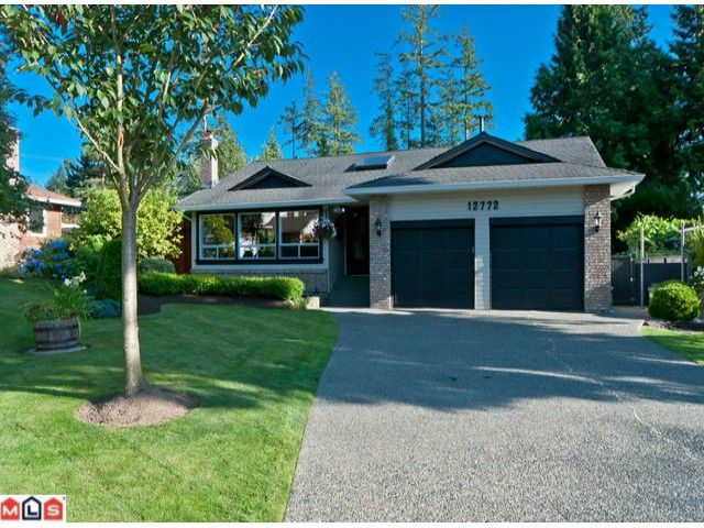 "Main Photo: 12772 20A Avenue in Surrey: Crescent Bch Ocean Pk. House for sale in ""Ocean Cliff Estates"" (South Surrey White Rock)  : MLS®# F1219011"