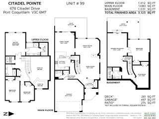 """Photo 20: 99 678 CITADEL Drive in Port Coquitlam: Citadel PQ Townhouse for sale in """"Citadel Pointe"""" : MLS®# R2399817"""
