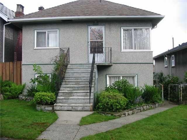 Main Photo: 2534 TURNER Street in Vancouver: Renfrew VE House for sale (Vancouver East)  : MLS®# V825991