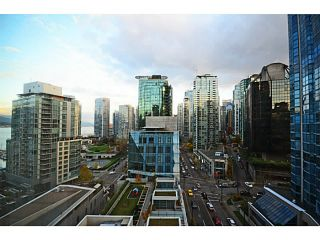 "Photo 12: 1103 1499 W PENDER Street in Vancouver: Coal Harbour Condo for sale in ""WEST PENDER PLACE"" (Vancouver West)  : MLS®# V1054615"