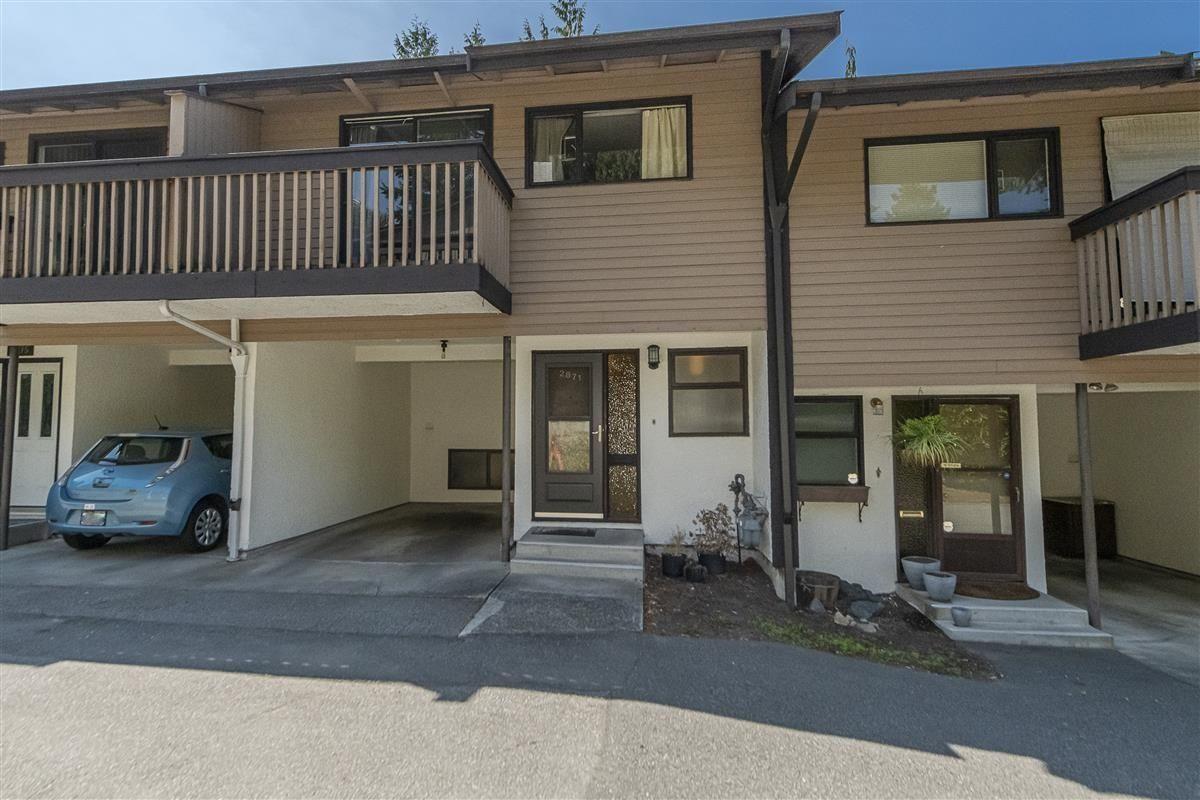 "Main Photo: 2871 CORONA Drive in Burnaby: Simon Fraser Hills Townhouse for sale in ""Simon Fraser Hills Ph 3"" (Burnaby North)  : MLS®# R2612105"