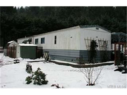 Main Photo: 65 2807 Sooke Lake Rd in VICTORIA: La Goldstream Manufactured Home for sale (Langford)  : MLS®# 326917