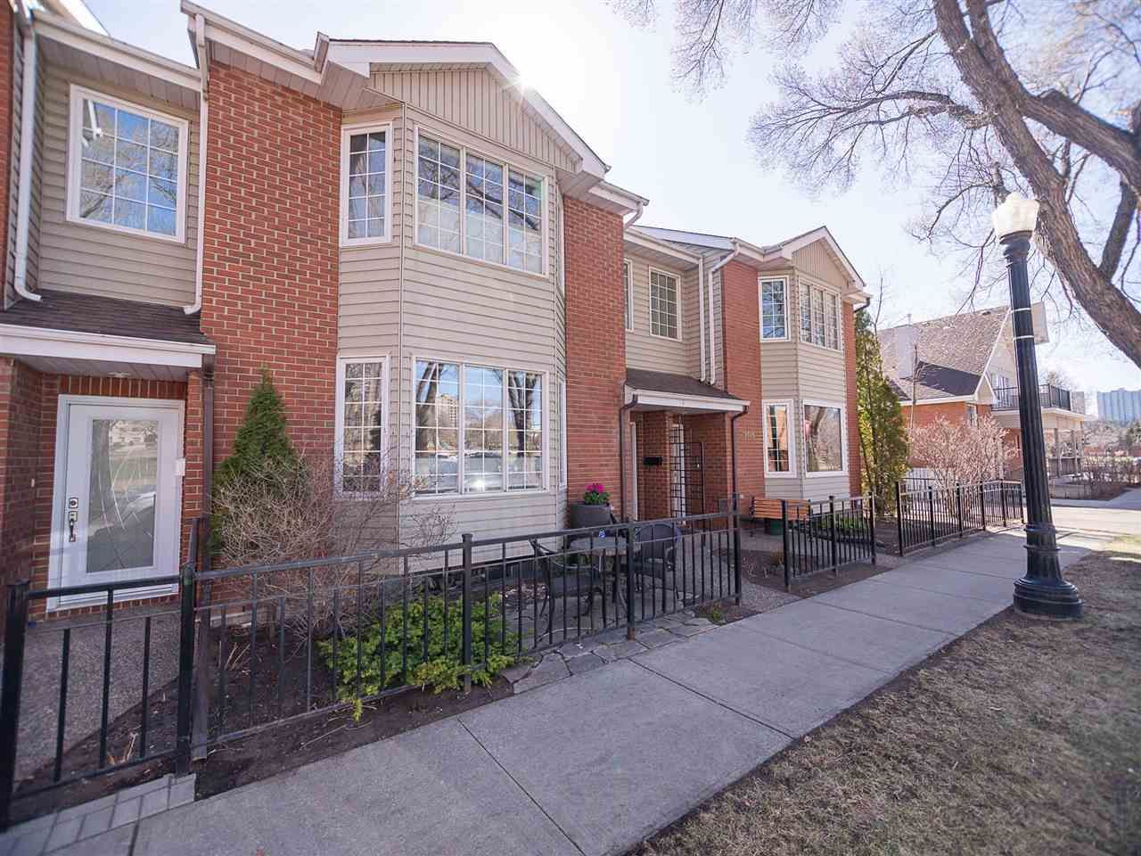 Main Photo: 9727 102 Street NW in Edmonton: Zone 12 Attached Home for sale : MLS®# E4241955