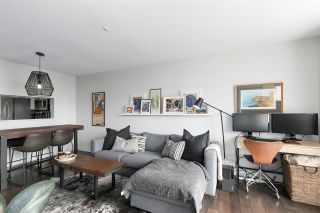 """Photo 4: 210 8430 JELLICOE Street in Vancouver: South Marine Condo for sale in """"BOARDWALK"""" (Vancouver East)  : MLS®# R2453487"""
