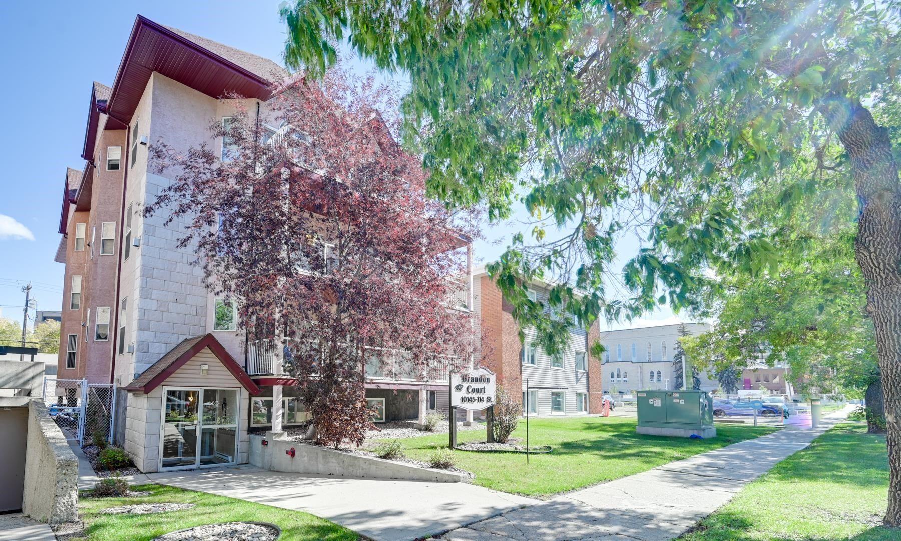 Main Photo: 101 10145 114 Street in Edmonton: Zone 12 Condo for sale : MLS®# E4262787